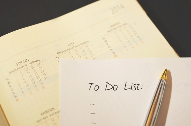 Create a to-do list to move locally.