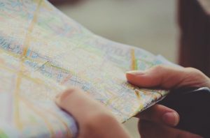 A map is a necessary part of a guide for New Yorkers moving to New Jersey.