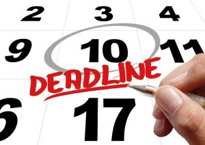 Time Calendar Deadline - Organize a Colorado to New Jersey move in less than a week